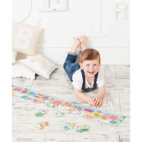 elc touch and feel numbers train puzzle