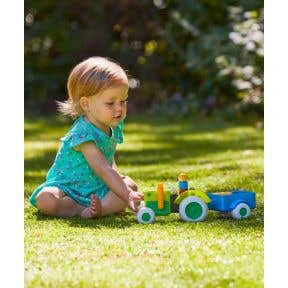 whizz world light and sounds tractor