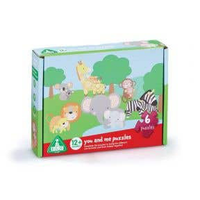elc you and me animal puzzles