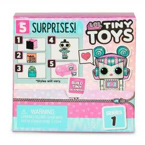 L.O.L Surprise Tiny Toy - Collect to Build a Tiny Glamper (Assorted Item)