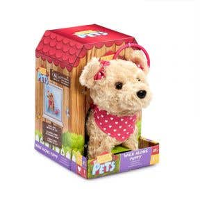 Addo Pitter Patter Pets Walk Along Soft Toy - Terrier
