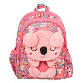 Smiggle Lil Mates Backpack Junior Character Pink