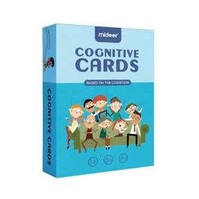 Mideer Cognitive Educational Flash Cards