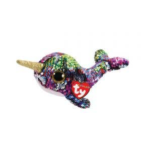 Beanie Boos Flippables Sequin Narwhal