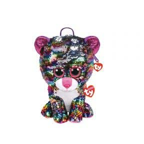Beanie Boos Sequins Backpack Dotty - Leopard