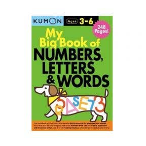 Kumon My Big Book Of Numbers, Letter