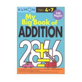 Kumon My Big Book Of Addition (248 Pages)