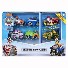 Paw Patrol True Metal - Classic Gift Pack Of 6 Collectible Vehicles